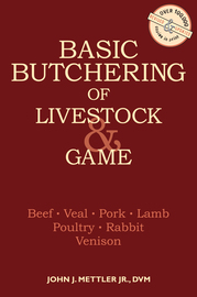 Basic Butchering of Livestock & Game - cover