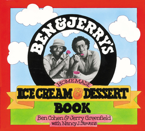 Ben & Jerry's Homemade Ice Cream & Dessert Book - cover