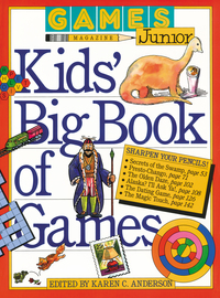 Games Magazine Junior Kids' Big Book of Games - cover