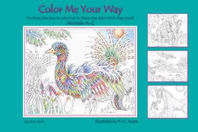 Color Me Your Way - cover