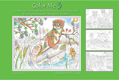 Color Me Your Way 3 - cover