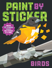 Paint by Sticker: Birds - cover
