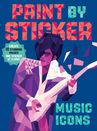 Paint by Sticker: Music Icons - cover