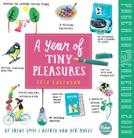 A Year of Tiny Pleasures Page-A-Day Calendar 2018 - cover