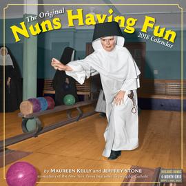 Nuns Having Fun Wall Calendar 2018 - cover