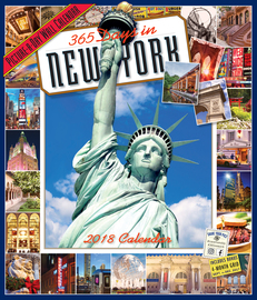 365 Days in New York Picture-A-Day Wall Calendar 2018 - cover