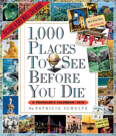 1,000 Places to See Before You Die Picture-A-Day Wall Calendar 2018 - cover