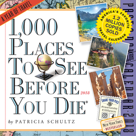 1,000 Places to See Before You Die Page-A-Day Calendar 2018 - cover