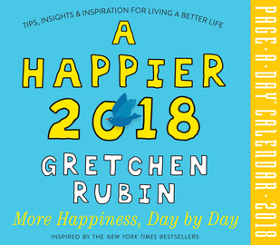 A Happier 2018 Page-A-Day Calendar - cover