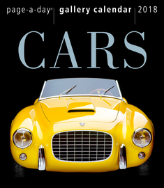 Cars Page-A-Day Gallery Calendar 2018 - cover