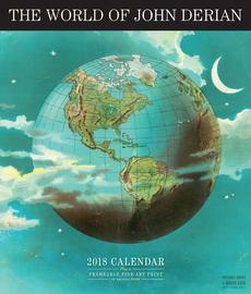 The World of John Derian Wall Calendar 2018 - cover