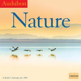 Audubon Nature: A Birder's Wall Calendar 2018 - cover