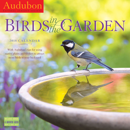 Audubon Birds in the Garden Wall Calendar 2018 - cover