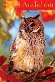 Audubon Birder's Engagement Calendar 2018 - cover