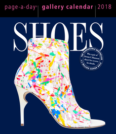 Shoes Page-A-Day Gallery Calendar 2018 - cover