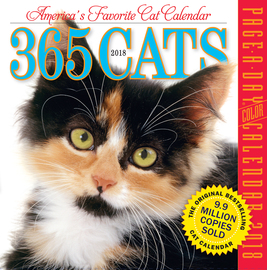 365 Cats Page-A-Day Calendar 2018 - cover