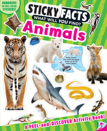 Sticky Facts: Animals - cover
