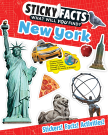Sticky Facts: New York - cover