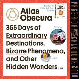 Atlas Obscura Page-A-Day Calendar 2018 - cover