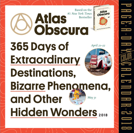 Atlas Obscura Page-A-Day Calendar 2018 - cover