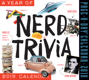 A Year of Nerd Trivia Page-A-Day Calendar 2018 - cover