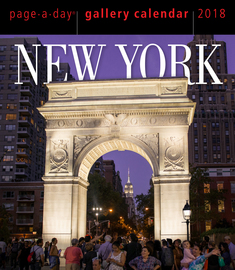 New York Page-A-Day Gallery Calendar 2018 - cover