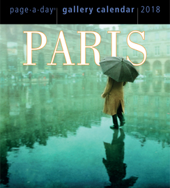 Paris Page-A-Day Gallery Calendar 2018 - cover