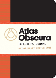 Atlas Obscura Explorer's Journal - cover