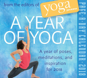 A Year of Yoga Page-A-Day Calendar 2018 - cover