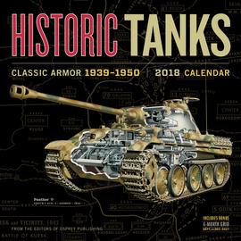 Historic Tanks Wall Calendar 2018 - cover