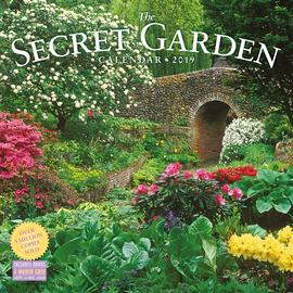 Secret Garden Wall Calendar 2019 - cover