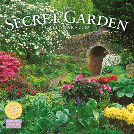 Secret Garden Wall Calendar 2019 - cover