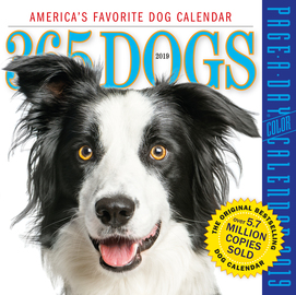 365 Dogs Page-A-Day Calendar 2019 - cover