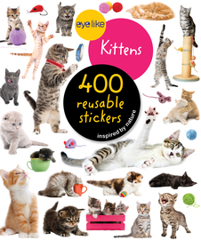 Eyelike Stickers: Kittens - cover