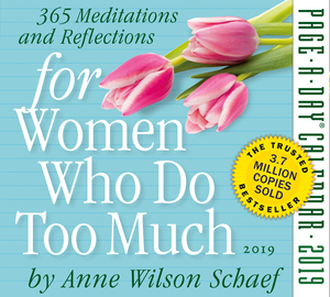 For Women Who Do Too Much Page-A-Day Calendar 2019 - cover