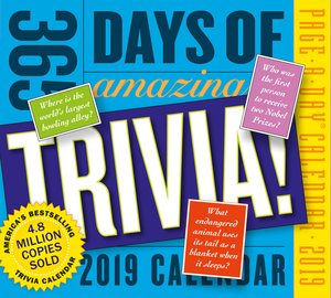 365 Days of Amazing Trivia! Page-A-Day Calendar 2019 - cover