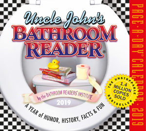 Uncle John's Bathroom Reader Page-A-Day Calendar 2019 - cover