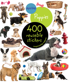 Eyelike Stickers: Puppies - cover