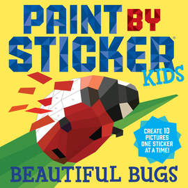 Paint by Sticker Kids: Beautiful Bugs - cover
