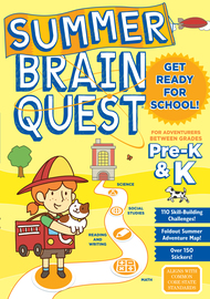 Summer Brain Quest: Between Grades Pre-K & K - cover