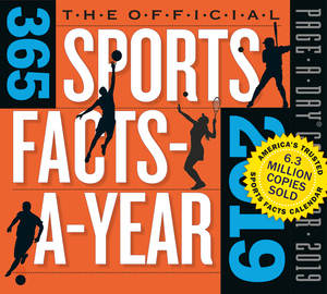 Official 365 Sports Facts-A-Year Page-A-Day Calendar 2019 - cover