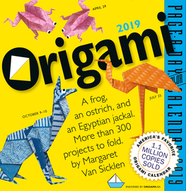 Origami Page-A-Day Calendar 2019 - cover