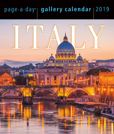 Italy Page-A-Day Gallery Calendar 2019 - cover