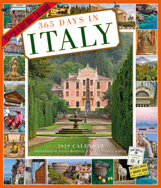 365 Days in Italy Picture-A-Day Wall Calendar 2019 - cover