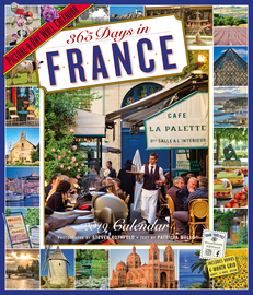 365 Days in France Picture-A-Day Wall Calendar 2019 - cover