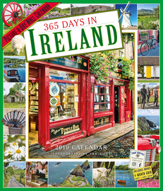 365 Days in Ireland Picture-A-Day Wall Calendar 2019 - cover