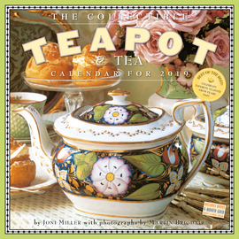 The Collectible Teapot & Tea Wall Calendar 2019 - cover