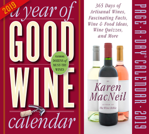 Year of Good Wine Page-A-Day Calendar 2019 - cover