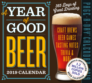 Year of Good Beer Page-A-Day Calendar 2019 - cover