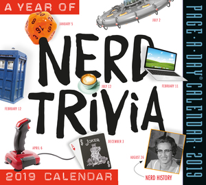A Year of Nerd Trivia Page-A-Day Calendar 2019 - cover